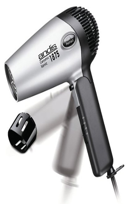 Andis 1875 Hair Dryer Ionic Ceramic with Folding Handle and Retractable Cord