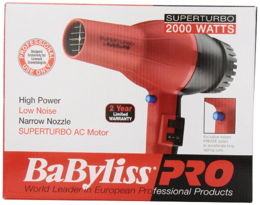 BaByliss BAB307 Pro Turbo Dryer review